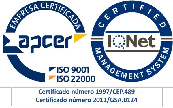 certificação APCER transportes figueiredo